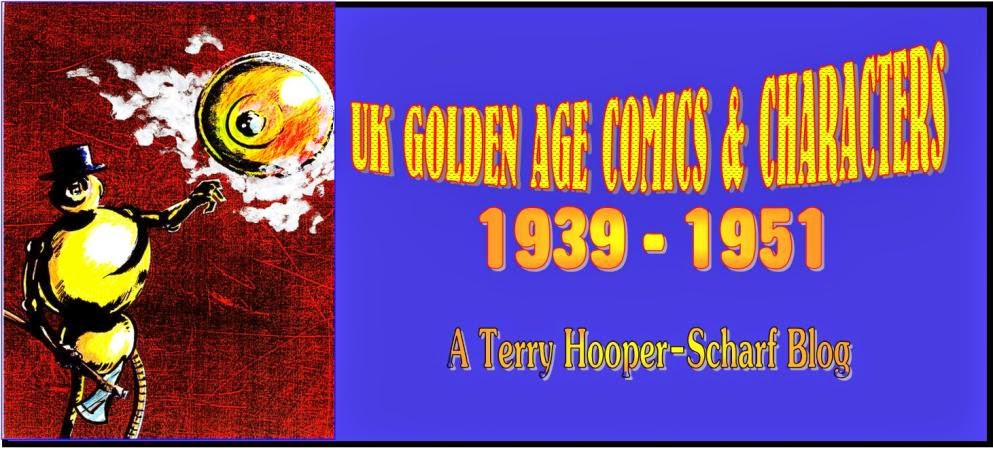 UK GOLDEN AGE HEROES AND COMICS