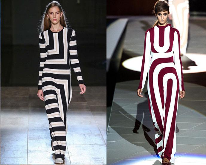 Victoria Beckham Spring/Summer 2015 vs Marc Jacobs Spring/Summer 2013