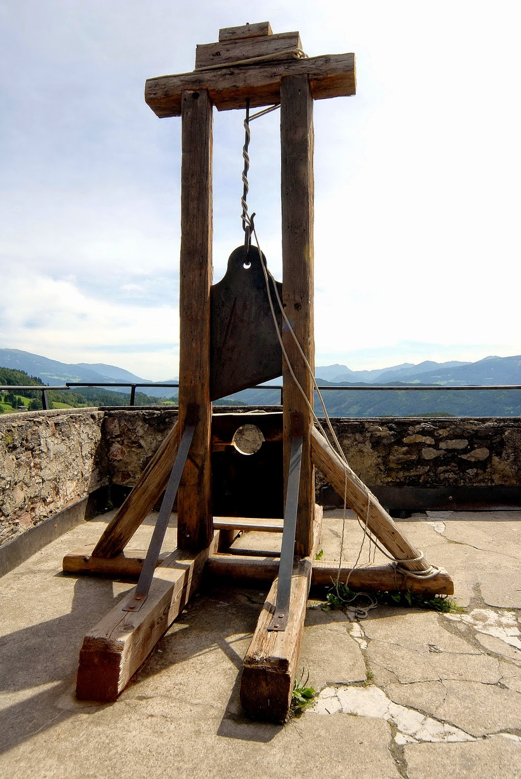 historical guillotine