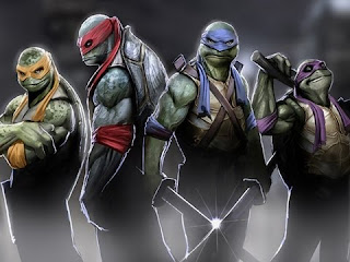 Ninja Kaplumbağalar Dövüş Oyunu