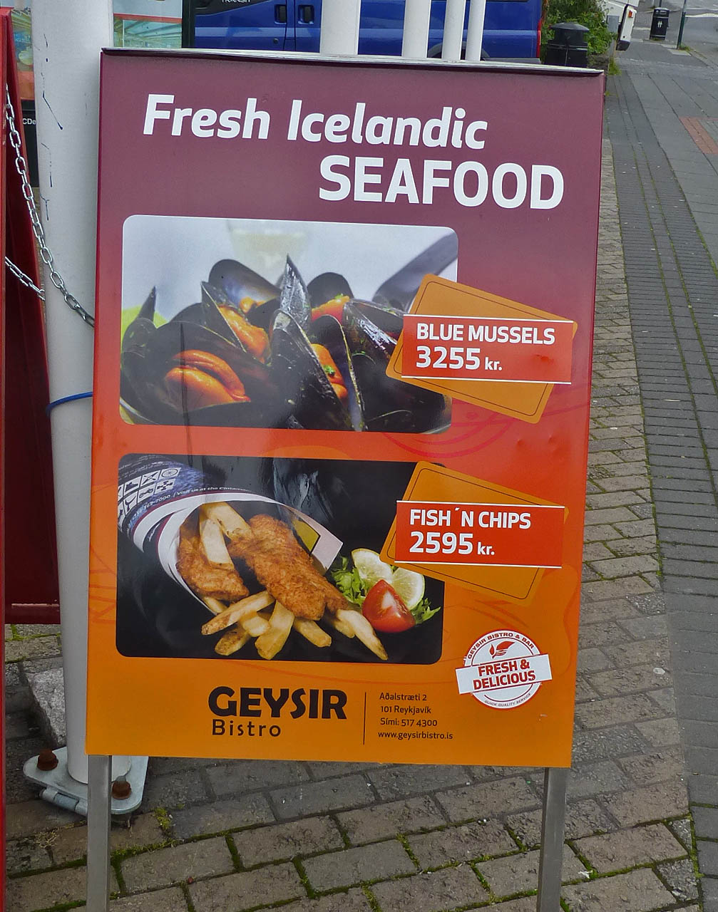 Around the world with uncle moose reykjavik for Icelandic fish and chips nyc