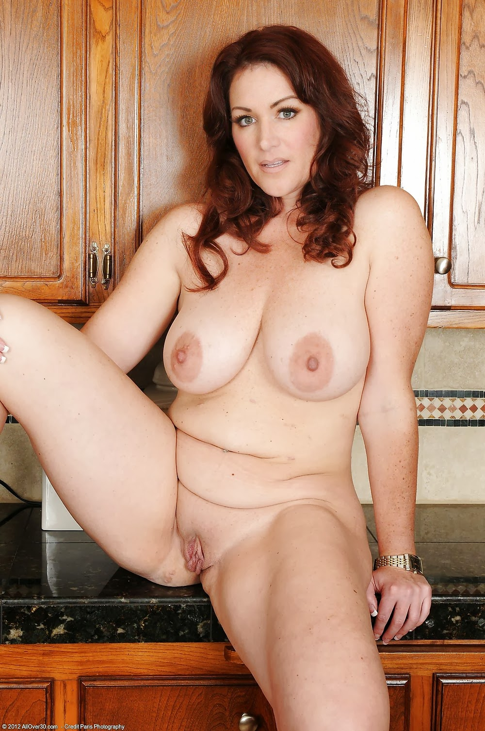 35 years bbw iris with gaping toyed pussy - 2 7