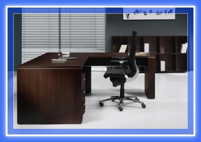 Escritorio pc de melamina madera dise os modernos web for Muebles para pc
