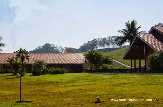 Parque y casas de fazenda en Porto Velho, Rondonia, Brasil