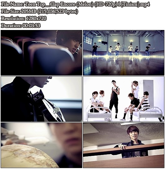 Download MV Teen Top - Clap Encore (박수 앙코르) (Melon HD 720p)