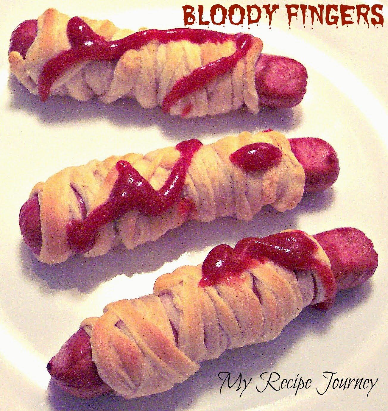 Bloody Fingers - Halloween Food