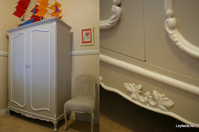 French Provincial Painted Armoire Sydney Lilyfield Life