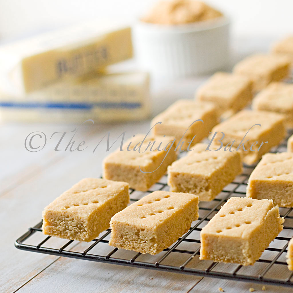 Brown Sugar Shortbread - The Midnight Baker