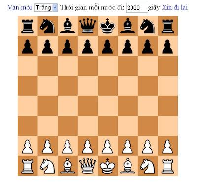 chơi cờ vua online