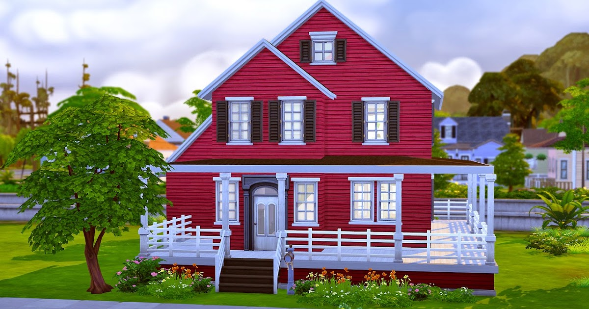 My sims 4 blog berglund starter by farfallesims for Small starter homes