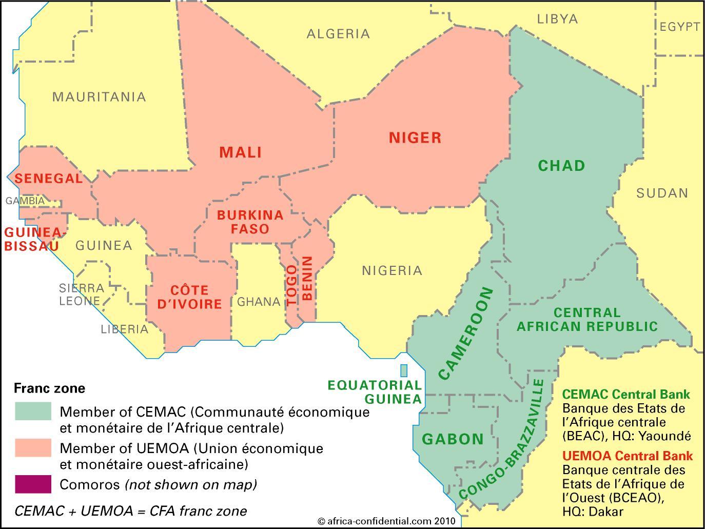 economically enslaved the francophone
