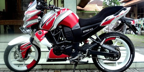 Model Modifikasi Kaki Yamaha Byson