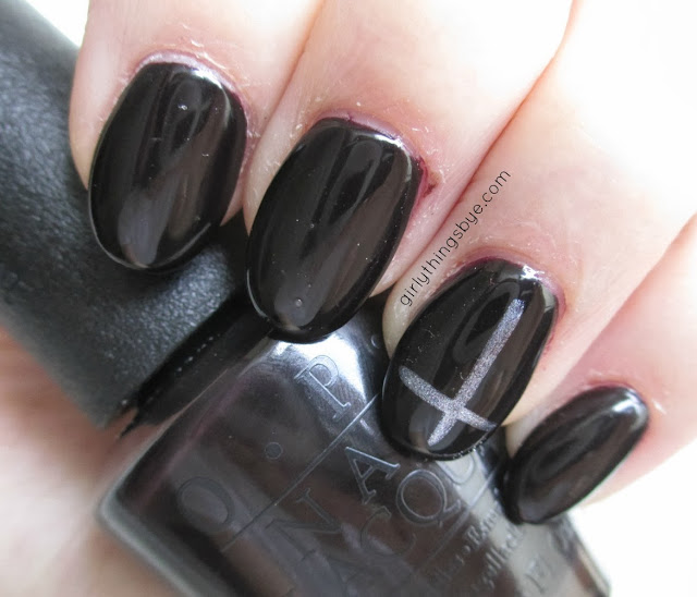 OPI Lincoln Park After Dark swatch, @girlythingsby_e