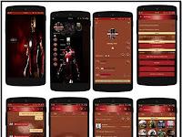 BBM MOD Theme Ironman v2.11.0.16 New Apk