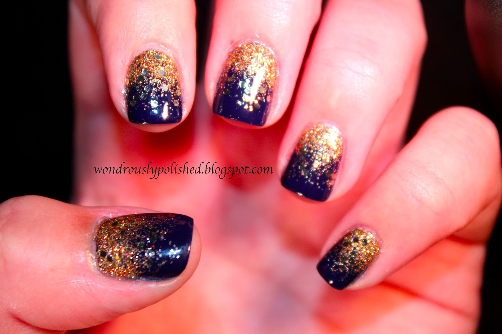 Wondrously Polished: Sparkle Gradient with BL, CG and SOPI