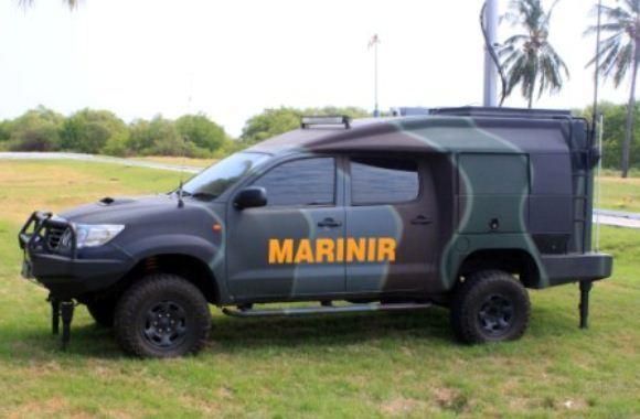 Elektronik Marinir - Latgab TNI 2014