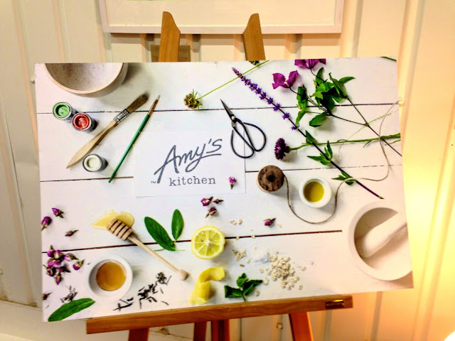 Amy's Kitchen sign