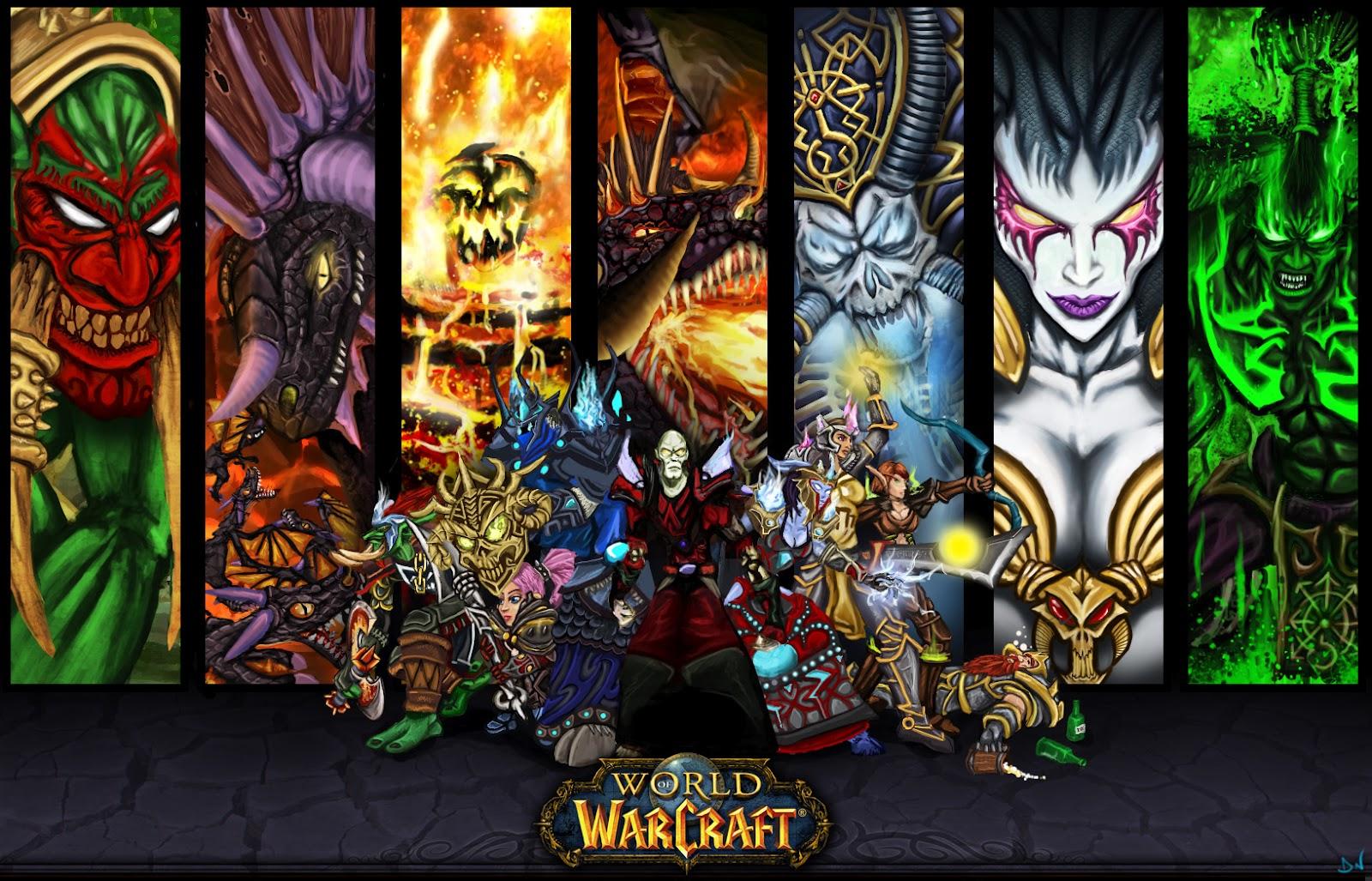 World of Warcraft Class Wallpapers