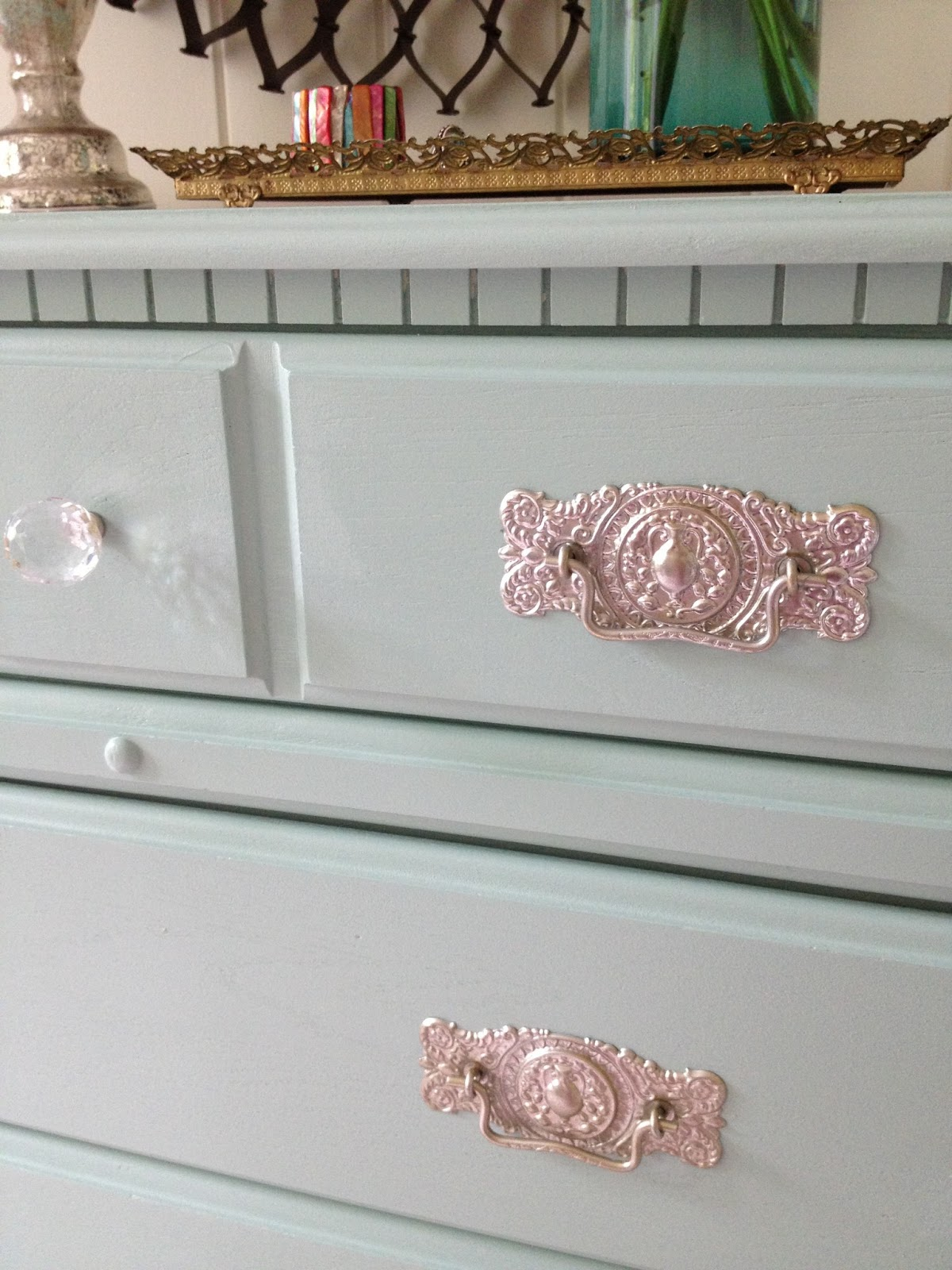 . LiveLoveDIY  How To Paint Laminate Furniture in 3 Easy Steps
