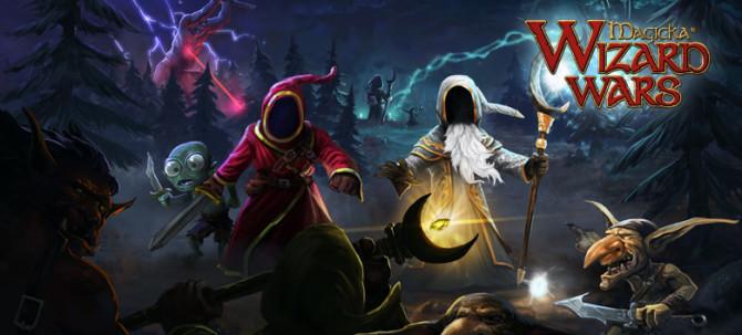 релиз игры Magicka: Wizard Wars