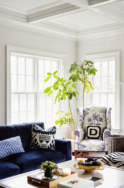 A cozy little corner by Sue De Chiara,Photo by Nicole Cohen