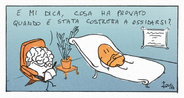 vitamina C cancro AIRC iacopo leardini vignetta