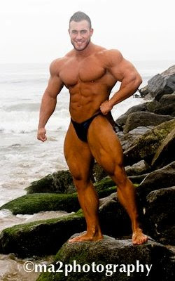 Muscle Addicts Inc Hot Bodybuilder Antoine Vaillant Part 3
