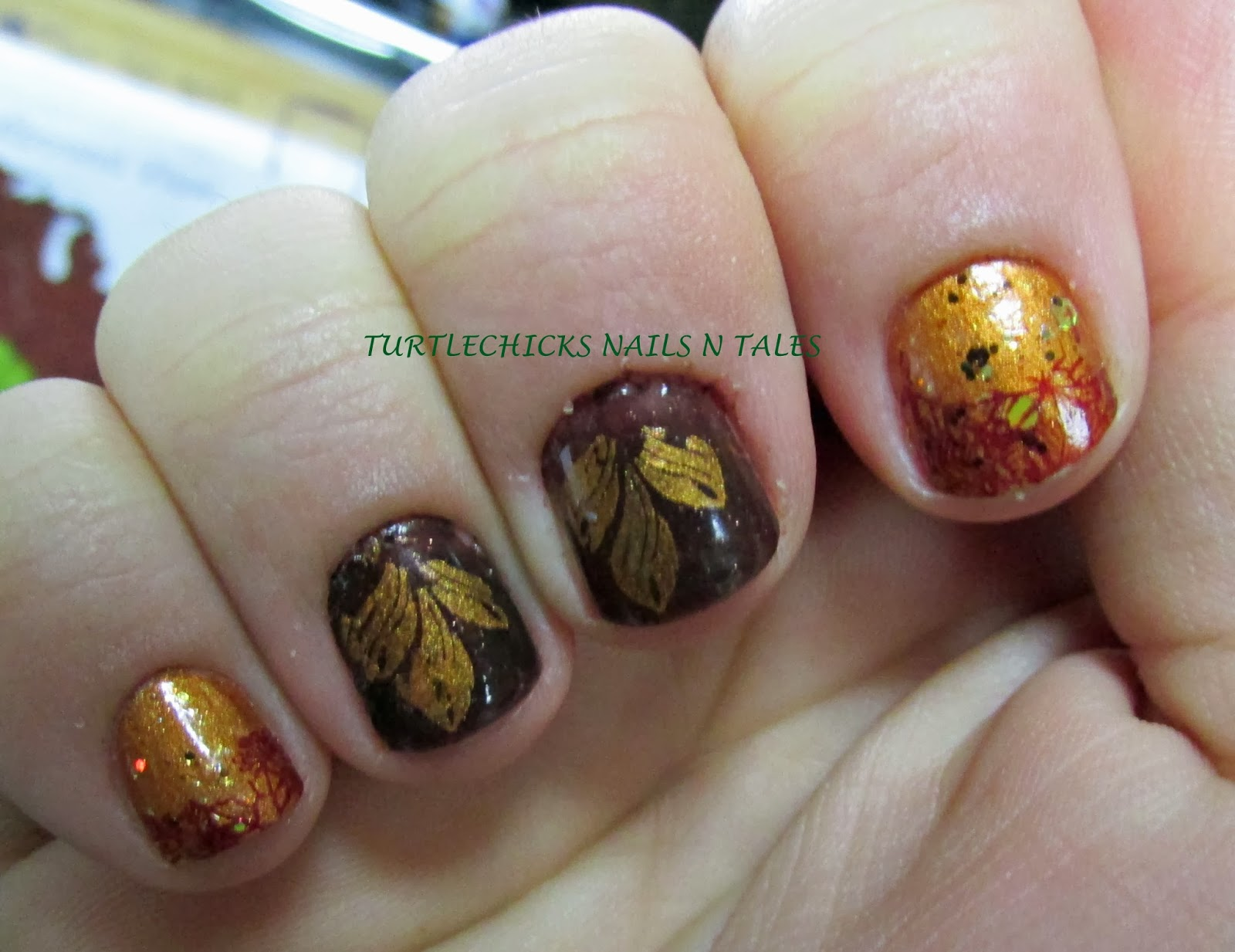 Turtlechick\'s Nails N Tales: Fall Mani