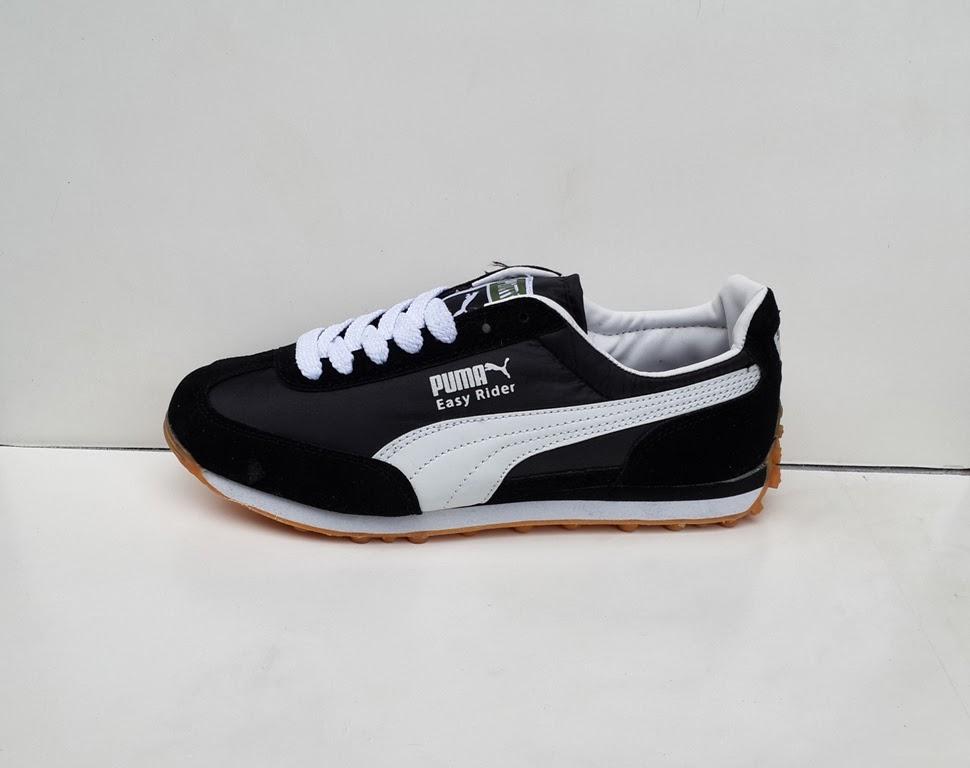 sepatu hitam, sepatu sekolah, jual sepatu Puma Easy Rider
