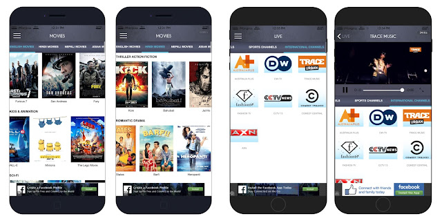 NET TV Nepal is the first mobile app that allows you to watch everything for free.