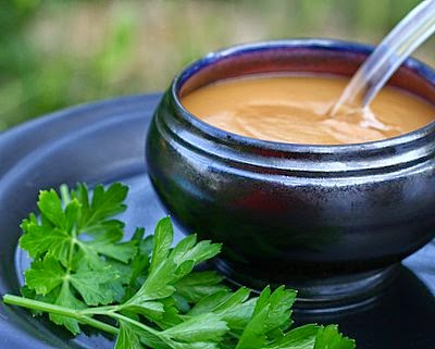 Homemade Finnish Mustard, a creamy, spicy mustard just like the amazing mustards in Finland.