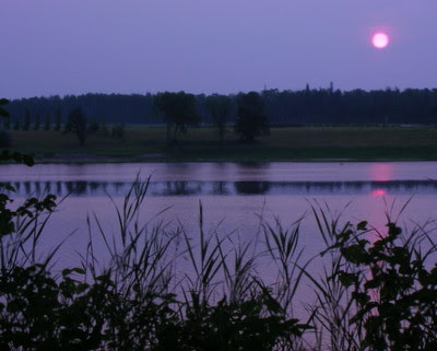 Rainy River at Sunrise