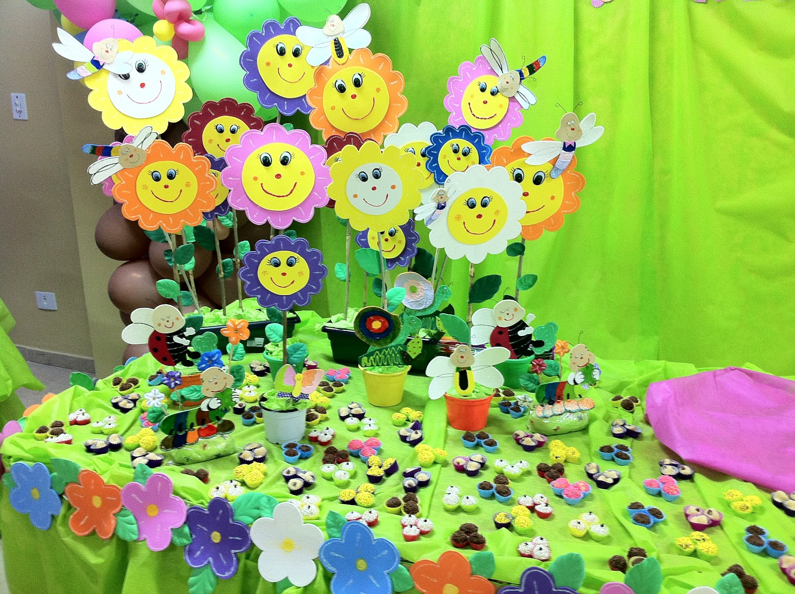 fotos de aniversario tema jardim encantado:Brincando com Idéias: Festa de Aniversário Tema Jardim Encantado