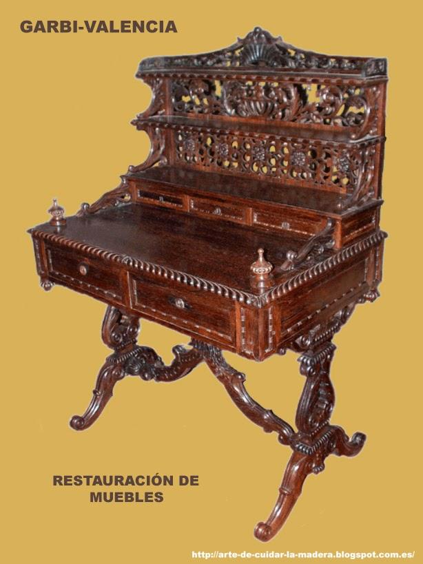 Arte de cuidar la madera restauraci n de muebles - Restauracion muebles valencia ...