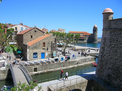 Royal Castle and church of Collioure