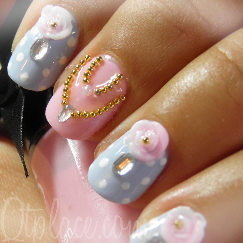 Vintage-lady-princess-nail-art - Nail Art Designs: Colorful Nail - Princess Nail Designs Graham Reid