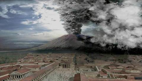 Letusan Gunung Di Kota Pompei