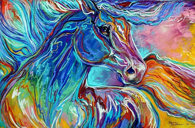 Art and writings pastel art for Pretty abstract paintings