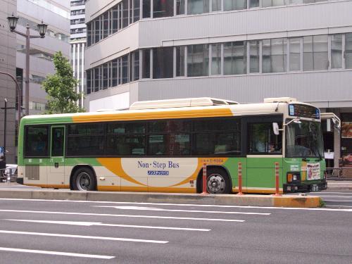 Non-Step Tokyo Toei Bus