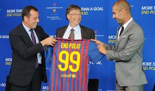 Barcelona y Bill Gates unidos en contra de la polio