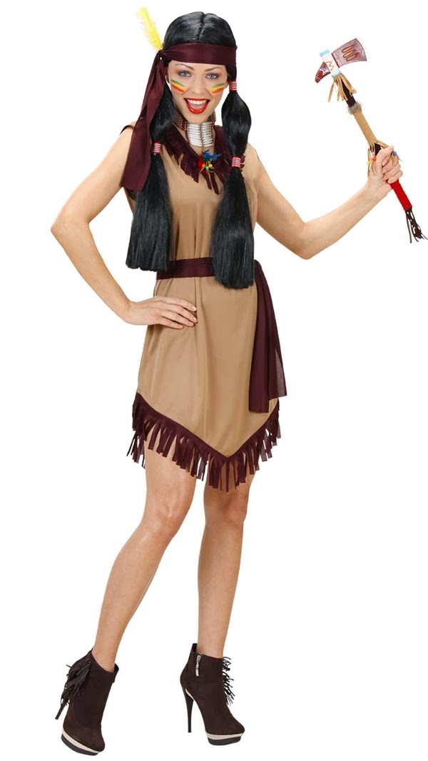 Indianerpige kjole
