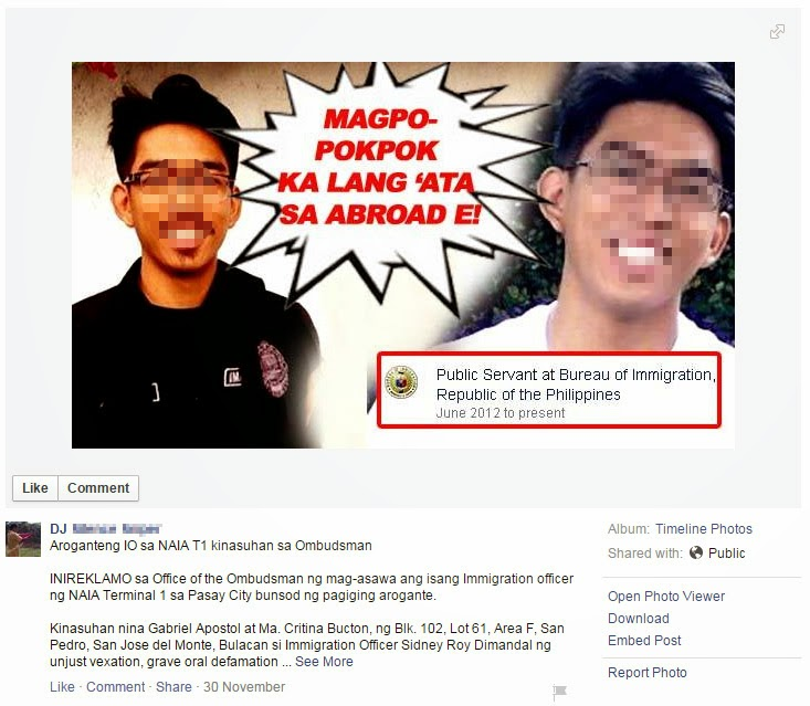 Immigration Officer Facing Heat for 'Pokpok' Remarks
