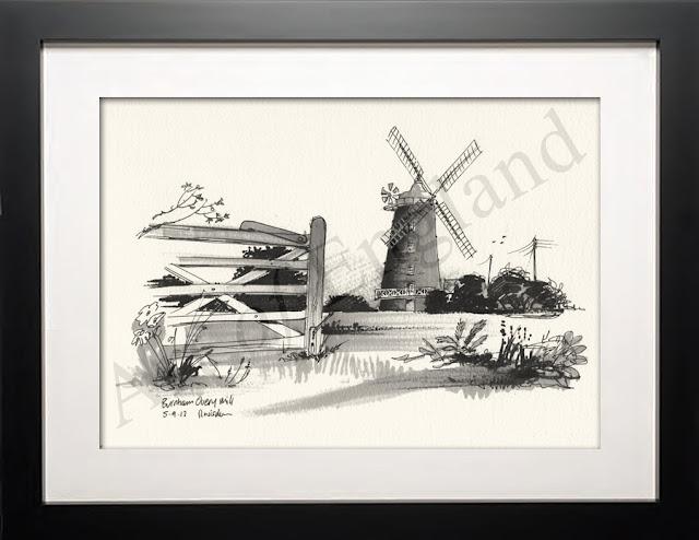 Burhham Overy Windmill