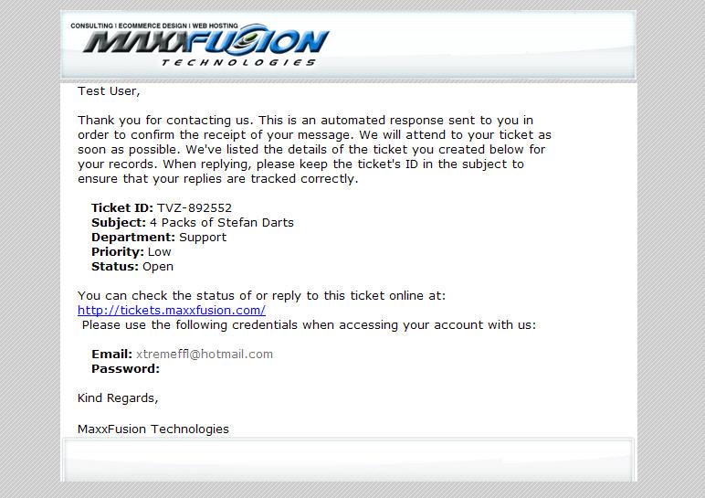 Professional Email Format - Slim Image