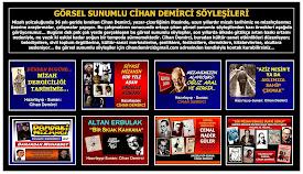 CİHAN DEMİRCİ, MİZAHHABER ARACILIĞIYLA, KÜLTÜR-SANAT ETKİNLİĞİ DÜZENLEYENLERE SESLENİYOR!..