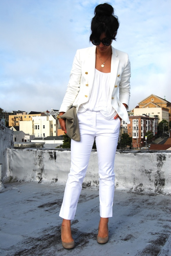 Troy Tashaz Blog All White Inspired Outfits