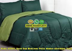 Harga Sprei Dan Bedcover Polos Hunter-olive/hijau Tua/mu Jual