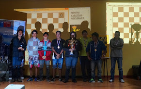 """GUILLERMO PAEZ fue el Campeón de la """"Gran Final de Ajedrez Arica 2014-2015"""""""