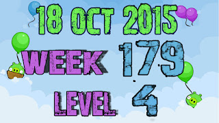 Angry Birds Friends Tournament level 4 Week 179