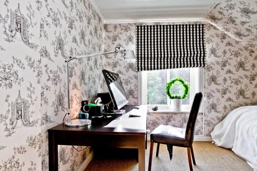 wystrój wnętrz, wnętrza, home decor, dom, mieszkanie, styl tradycyjny, styl klasyczny, białe wnętrza, sypialnia, czerń i biel, black and white